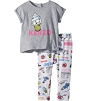 Kenzo Kids - Food Print Two-Piece Set (Infant)