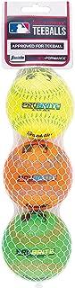 Franklin Sports Pro Brite Neon Rubber Teeballs (3 Pack)