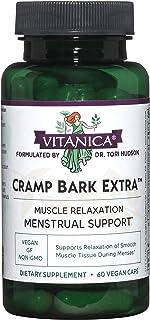 Sponsored Ad - Vitanica Cramp Bark Extra, Menstrual Support, Vegan, 60 Capsules