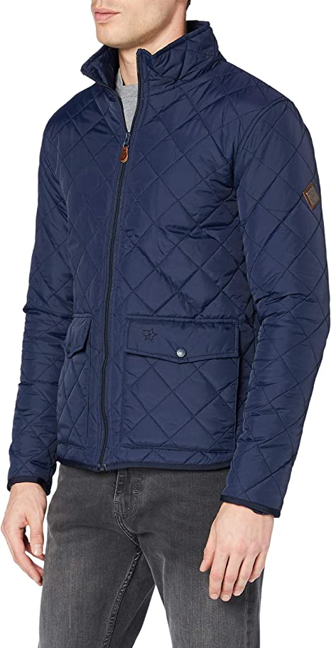 Regatta Herren Locke Water Repellent Insulated Dual Entry Pockets Quilted Equestrian Friendly Jacket With Back Vents Jacke