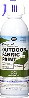 Deval Products OF0046009M Outdoor Spray Fabric Paint, 13.3 oz, Olive