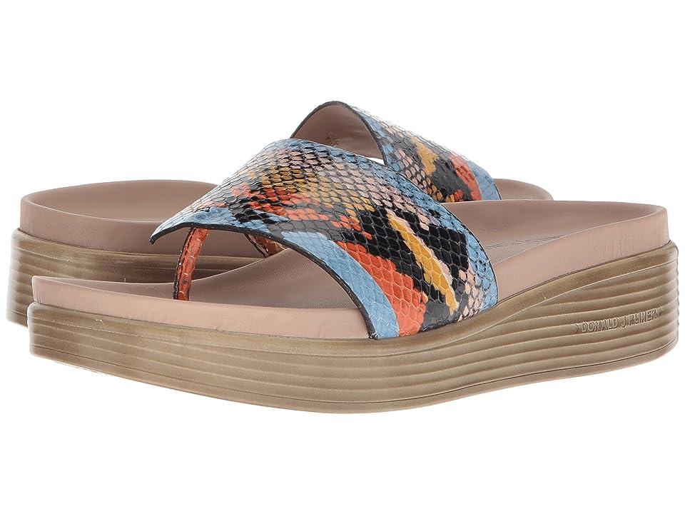 Donald J Pliner Fifi 19 (Stripe Snake Capri) Women