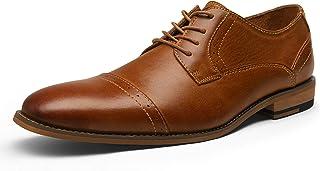 JOUSEN Men's Oxford Leather Dress Shoes Formal Shoes for Men