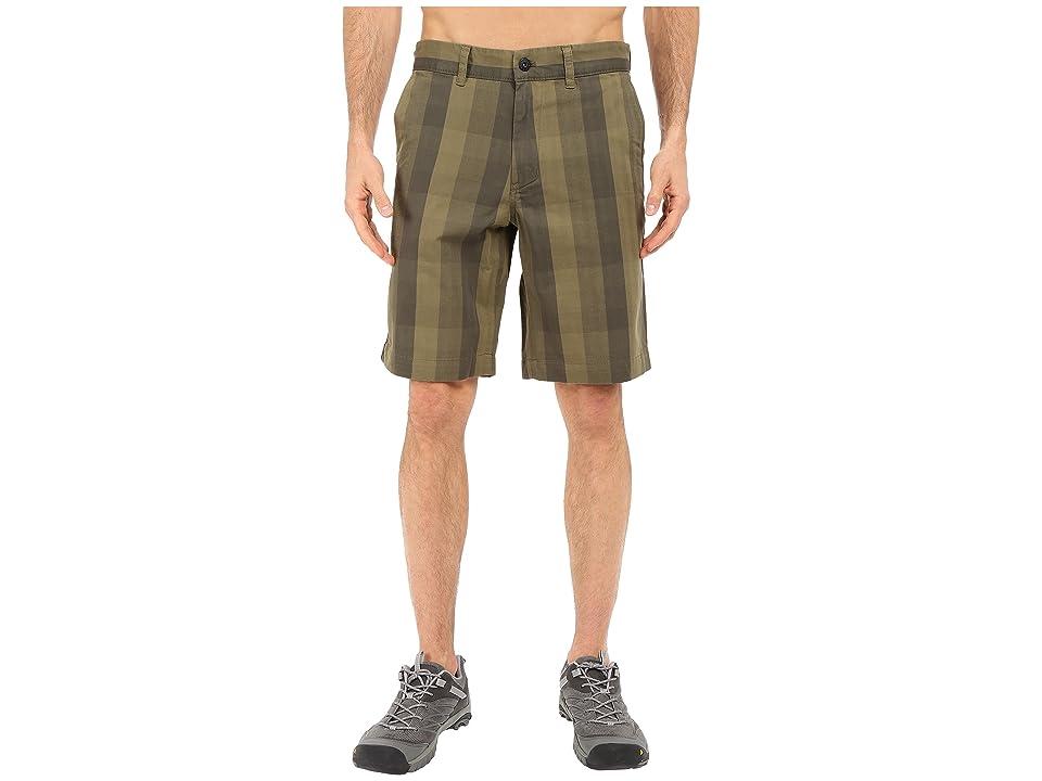 The North Face The Narrows Plaid Shorts (New Taupe Green Plaid (Prior Season)) Men