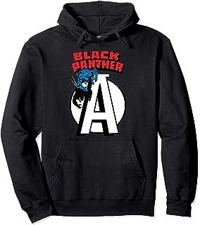 Marvel Avengers Black Panther Chest Logo Sweat à Capuche