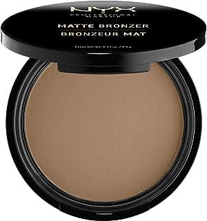 NYX Professional Makeup Matte Bronzer, Deep, 0.33 Ounce