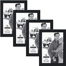 إطار صور أسينتلز من شركة مالدن إنترناشيونال ديزاينز، 12.7 سم × 17.78 سم، أسود، 4