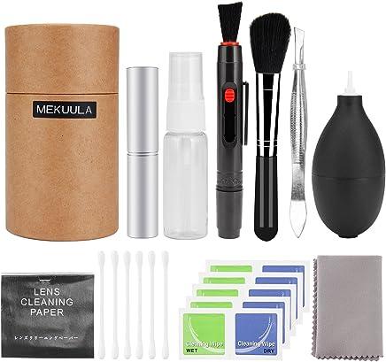 カメラクリーニング キット レンズクリーナー 一眼レフ用 掃除用品 MEKUULA 清掃簡単 ブロアー/レンズペン付き お手入れ 11点 セット