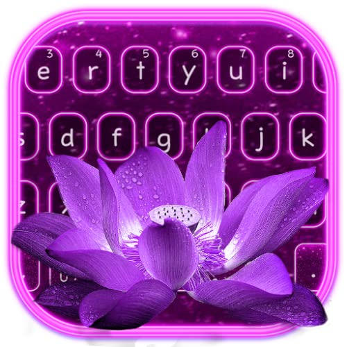 Lotus Butterfly Flash Keyboard Theme
