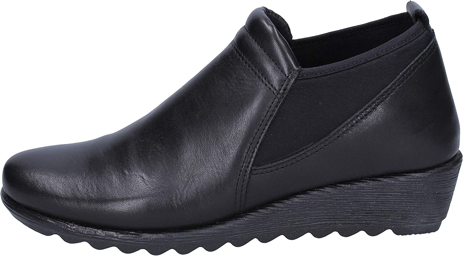 RIPOSELLA Loafers-shoes Womens Leather Black