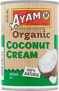 Ayam Organic Coconut Cream, 6 x 400 g