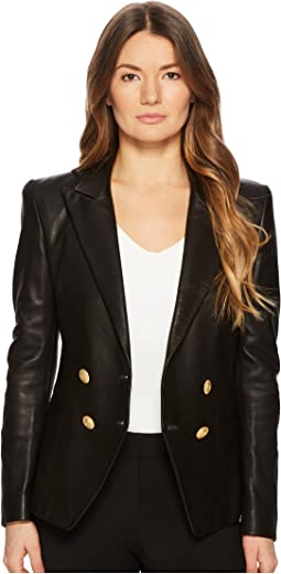 Pierre Balmain - Gold Embellished Button Blazer