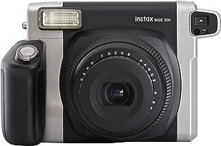 Fujifilm instax WIDE 300 - Cámara analógica instantánea negro (importado) paquete con 10 disparos