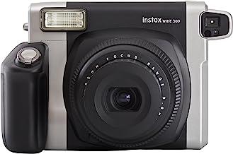 Fujifilm instax WIDE 300 - Cámara analógica instantánea, negro (importado), paquete con 10 disparos
