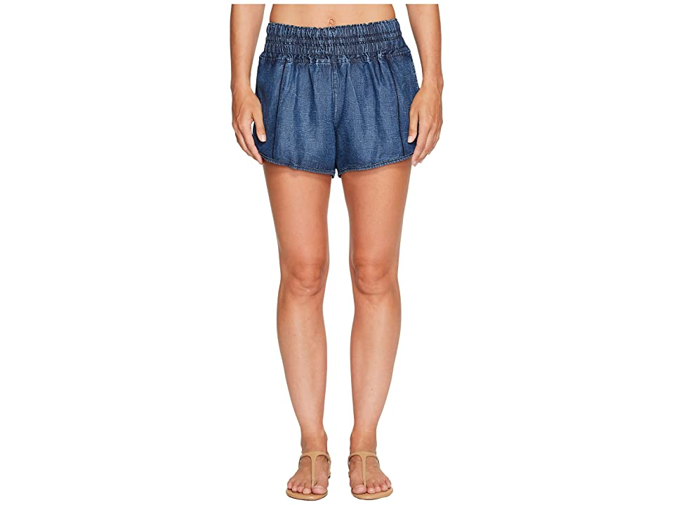 Maaji Lifeboat Chambray Shorts (Blue) Women