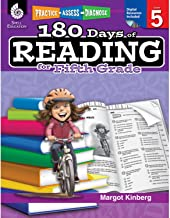 180 Days of Reading: Grade 5 - Daily Reading Workbook for Classroom and Home, Reading Comprehension and Phonics Practice, School Level Activities Created by Teachers to Master Challenging Concepts