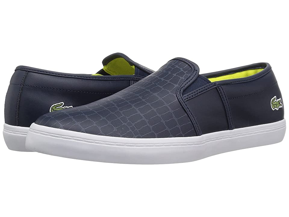 Lacoste Gazon 118 2 (Navy/Fluro Yellow) Women