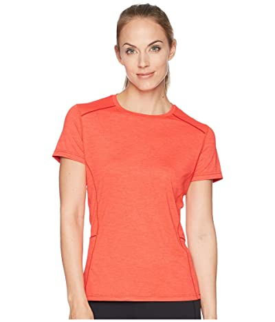 Prana Eileen Sun Top Short Sleeve (Carmine Pink) Women