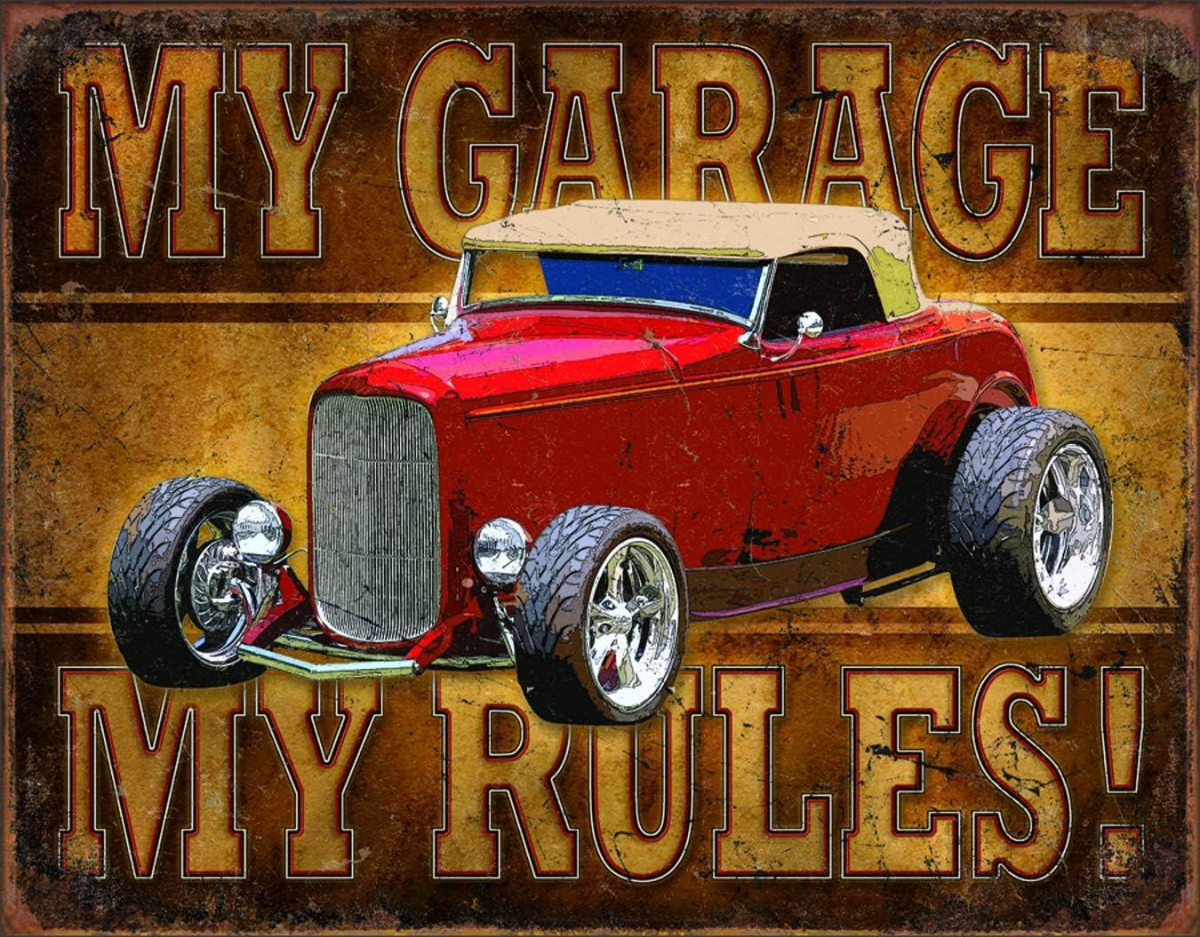 Desperate Enterprises My Garage Popularity Rules Tin 12.5