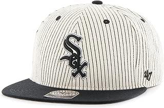 MLB Chicago White Sox Woodside Captain Adjustable Snapback Hat, One Size, Black
