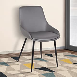 Best grey faux leather chairs Reviews
