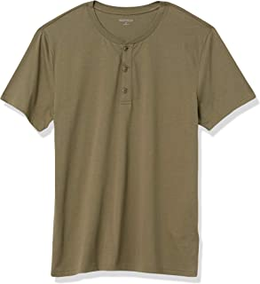 Marca Amazon - Goodthreads Cotton Short-sleeve Henley - henley-shirts Hombre