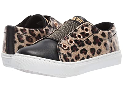 Nine West Kids Kiora (Toddler/Little Kid) (Leopard/Black Patent) Girl