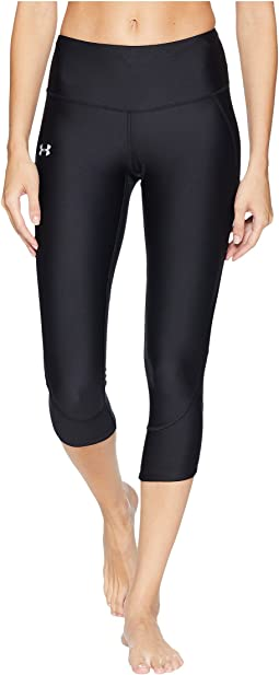 42a3e7e28eac7b Black/Black/Reflective. 137. Under Armour. Armour Fly Fast Capri Pants
