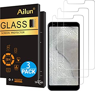 Ailun Screen Protector for Google Pixel 3A XL 6.0 Inch Display 3Pack 2.5D Edge Tempered Glass for Google Pixel 3A XL Anti Scratch Case Friendly