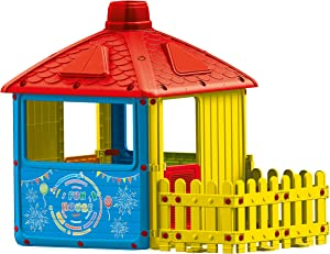 Dolu Toys - My First City Playhouse with Fenced Garden