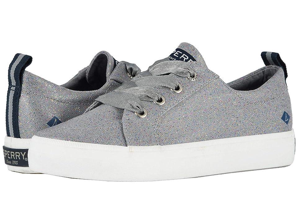 Sperry Kids Crest Vibe (Little Kid/Big Kid) (Grey Sparkle) Girls Shoes