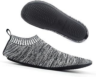 Dream Bridge, Zapatillas para Adultos Calcetines Zapatillas de Punto Antideslizantes cómodos Calcetines de Goma para Interiores Son adecuados para Hombres y Mujeres