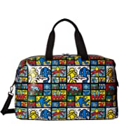 Alice + Olivia - Keith Haring X Alice + Olivia Whitney Printed Weekender