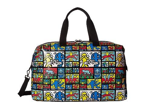 Alice + Olivia Keith Haring X Alice + Olivia Whitney Printed Weekender