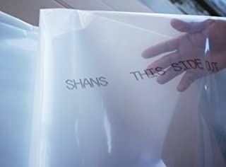 SHANS Greenhouse Clear Plastic Film/Polyethylene Covering/Plastic Poly Sheeting 6 Mil 5 Year by (12FT 100FT)