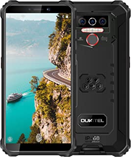 OUKITEL WP5 (2020) Rugged Cell Phones Unlocked Android 10 Smartphone 8000mAh Battery Triple Camera 4 LED Flashlights 4GB+3...