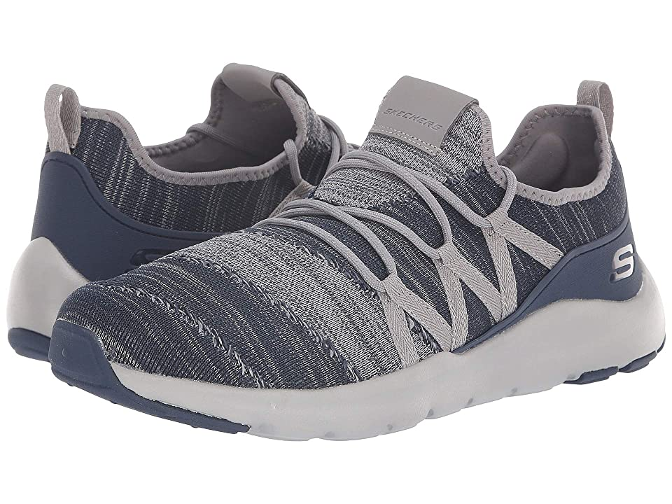SKECHERS Nichlas Tricity (Navy/Charcoal) Men