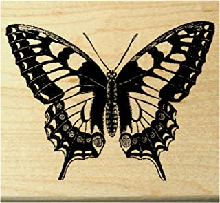 Monarch butterfly rubber stamp P22