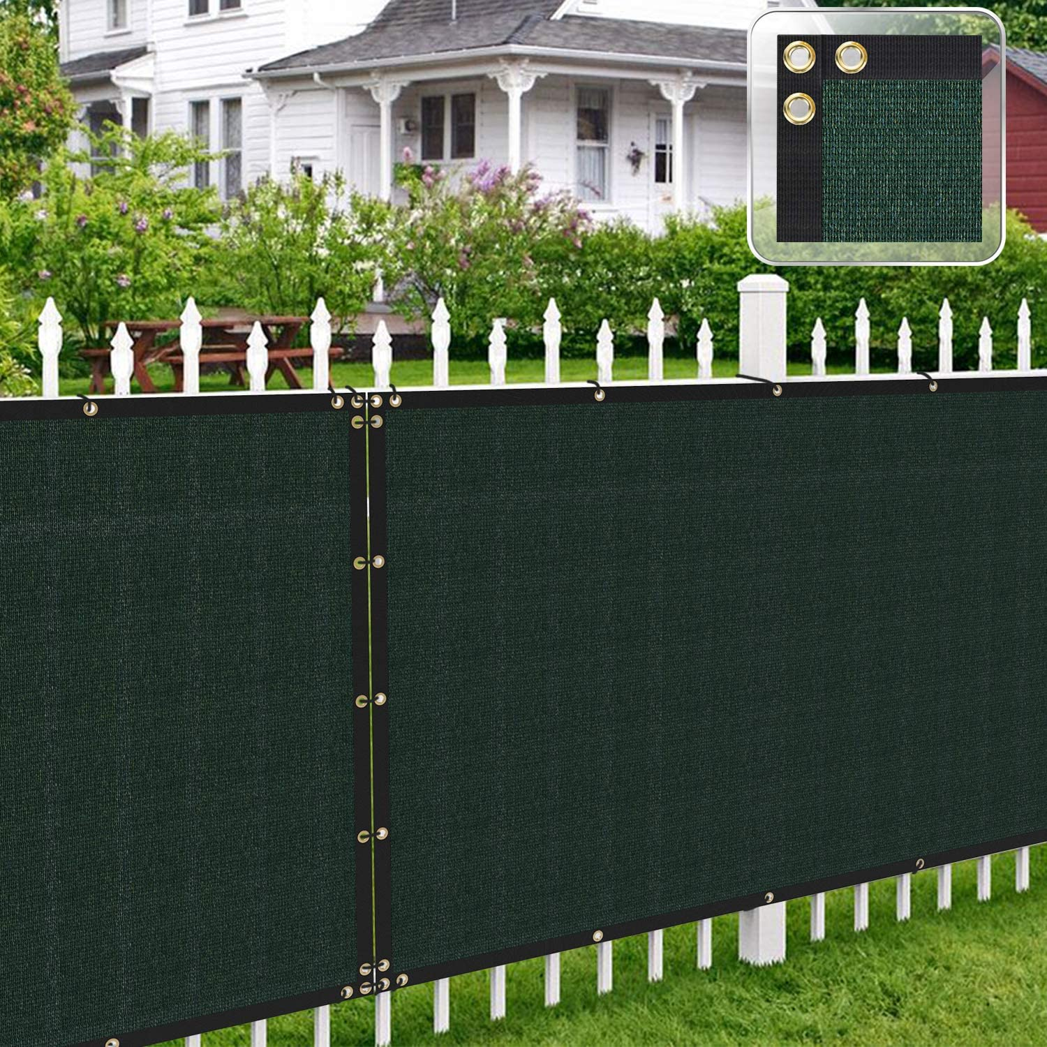 Patio Fence Privacy Cheap Screen Green New product 8' Shade x 45' Pergola Ca Cover
