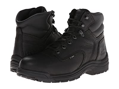 Timberland PRO TITAN(r) 6 Alloy Safety Toe (Blackout Full-Grain Leather) Men