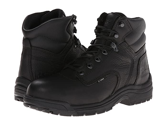 Timberland PRO  TITAN 6 Alloy Safety Toe (Blackout Full-Grain Leather) Mens Work Lace-up Boots