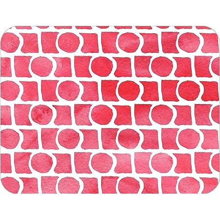 Bonamaison Alfombrillas de baño, Polyester, Multicolor, 65X50 Cm