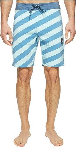 "Stripey Slinger 19"" Boardshorts"