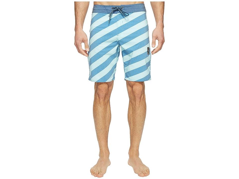 Volcom Stripey Slinger 19 Boardshorts (Deep Water) Men