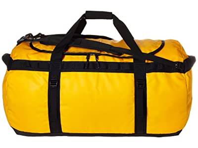 The North Face Base Camp Duffel Extra Large (Summit Gold/TNF Black) Duffel Bags