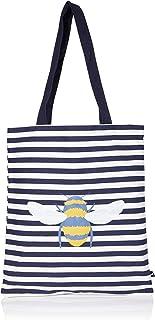 Joules Damen Lulu Shopper Canvas Tote Stofftasche, Einheitsgröße