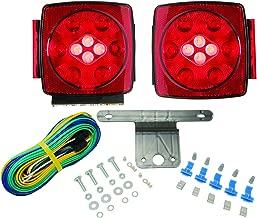 Blazer C7425 LED Square Trailer Light Kit with Integrated Back-Up Lights