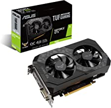 ASUS Phoenix NVIDIA GeForce GTX 1650 OC Edition Gaming Graphics Card (PCIe 3.0, 4GB GDDR6 Memory, HDMI, DisplayPort, DVI-D...