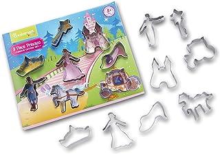 Smartbox Cooksmart Kids - Juego de moldes para galletas, infantil, modelo Princess, 8