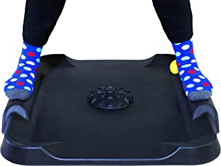 Ergo Stand | Standing Desk Mat, Anti Fatigue Stand Up Desk Mat for Office and Standing Workstation, Includes Massage Ball, AcuMound, Cushioned Pad, Ergonomic Floor Desk Mats, Greater Support